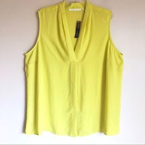 Violet+Claire Sleeveless Blouse